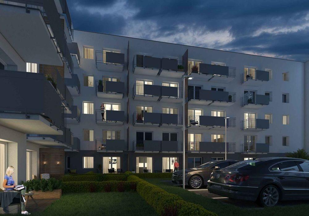 Mieszkanie trzypokojowe na sprzedaż Poznań, Malta, abpa Walentego Dymka  52m2 Foto 4