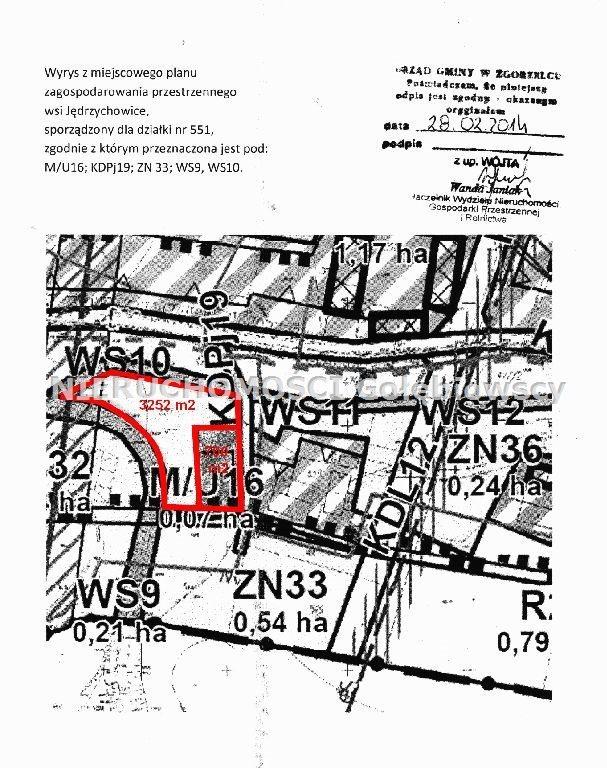 Działka inna na sprzedaż Jędrzychowice  3952m2 Foto 8