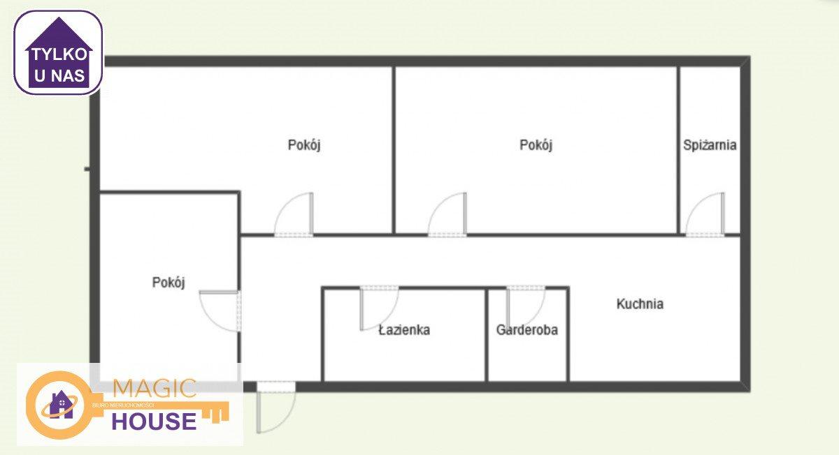 Mieszkanie trzypokojowe na sprzedaż Nowy Dwór Gdański, Plac Wolności  67m2 Foto 10