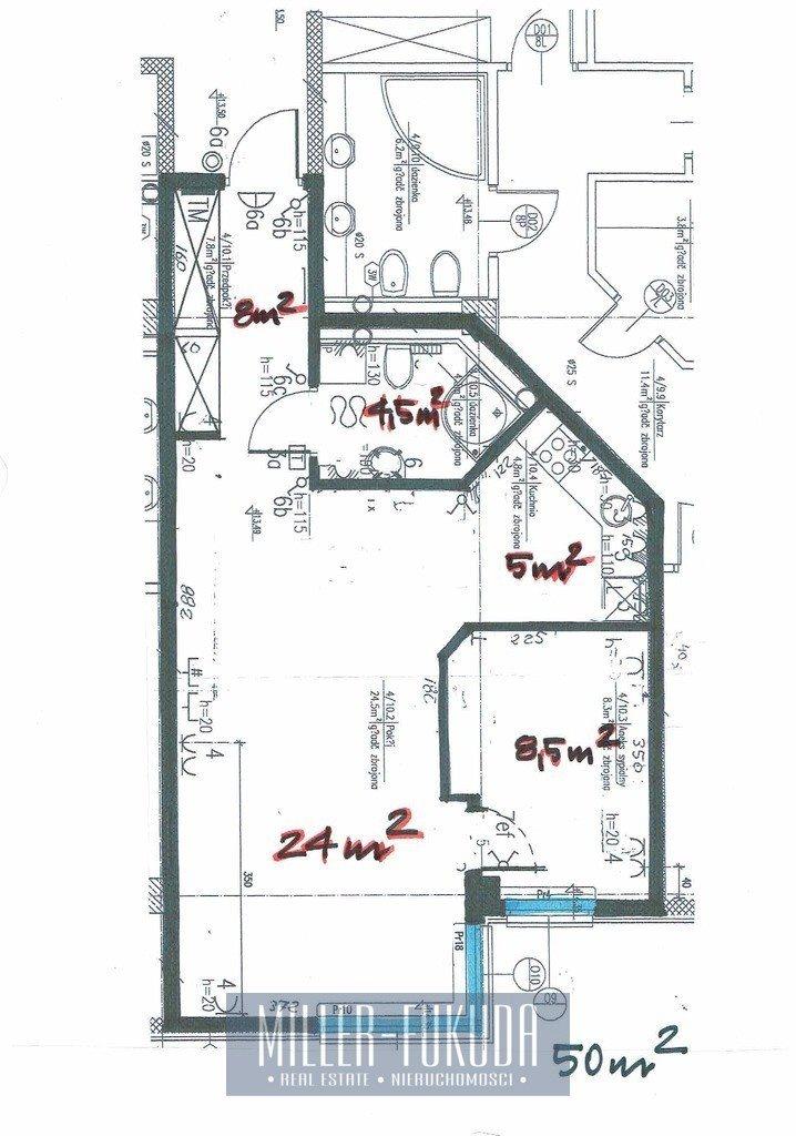 Mieszkanie dwupokojowe na wynajem Warszawa, Śródmieście, Grzybowska  50m2 Foto 10