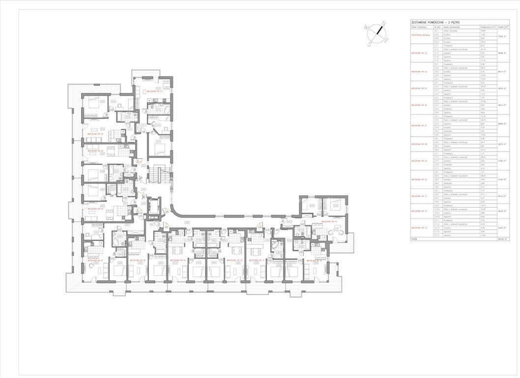 Mieszkanie dwupokojowe na sprzedaż Bielsko-Biała  47m2 Foto 8