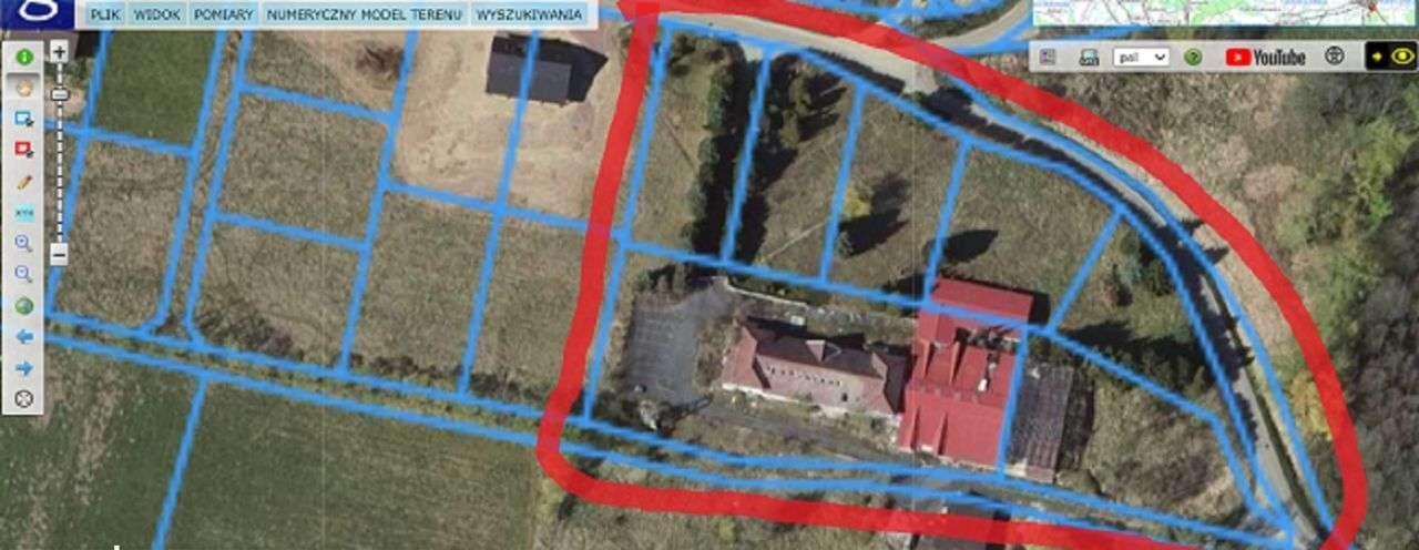 Działka budowlana na sprzedaż Komarno, Widokowa  1077m2 Foto 6