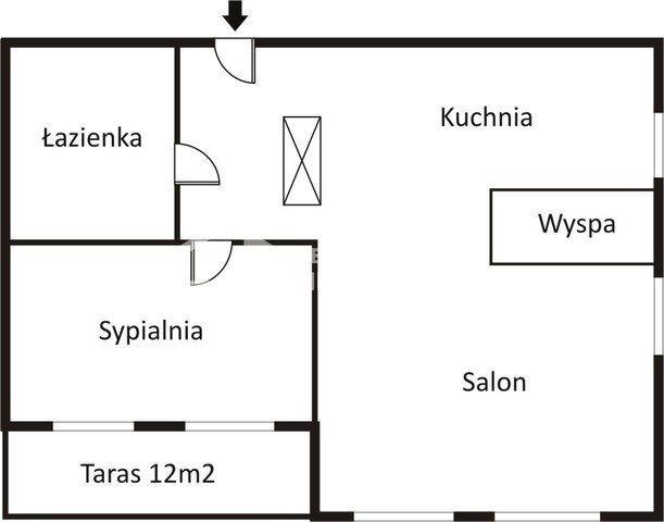 Mieszkanie dwupokojowe na wynajem Gdańsk, Stare Miasto, Szafarnia  70m2 Foto 2