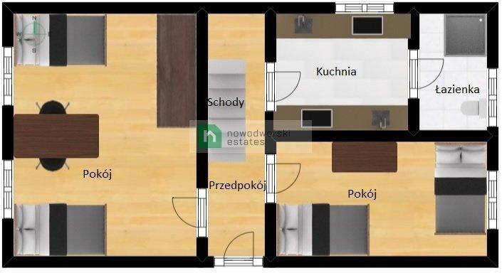 Mieszkanie czteropokojowe  na wynajem Gliwice  90m2 Foto 4