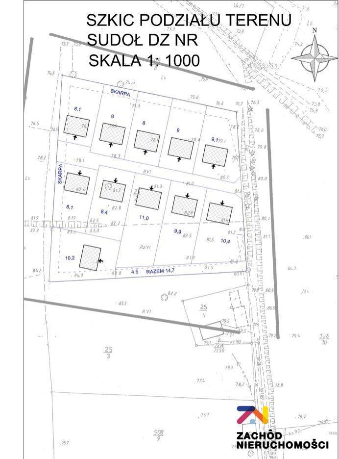 Działka budowlana na sprzedaż Sudoł  11800m2 Foto 9