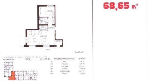 Mieszkanie dwupokojowe na sprzedaż Pabianice, Osiedle Bugaj  62m2 Foto 9