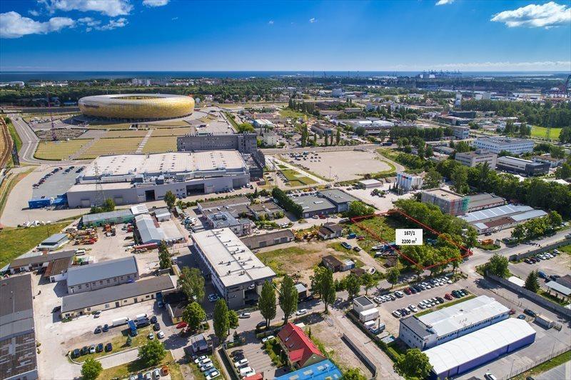 Działka inwestycyjna na sprzedaż Gdańsk, Letnica, Narwicka  2083m2 Foto 3