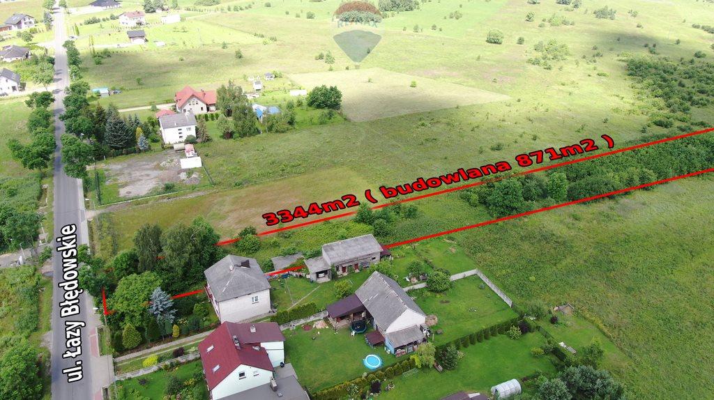 Działka budowlana na sprzedaż Dąbrowa Górnicza, Łazy Błędowskie  3344m2 Foto 2
