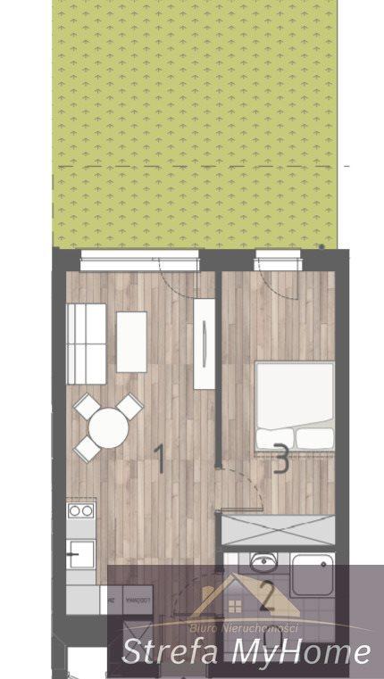 Mieszkanie dwupokojowe na sprzedaż Pobierowo  39m2 Foto 4