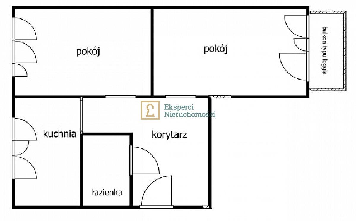 Mieszkanie dwupokojowe na sprzedaż Rzeszów, Śródmieście  41m2 Foto 7