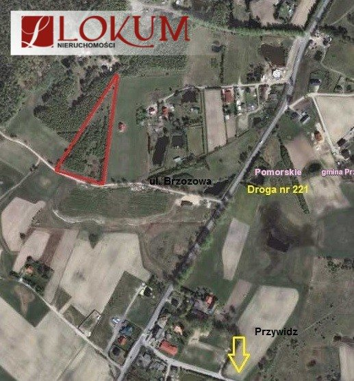 Działka przemysłowo-handlowa na sprzedaż Pomlewo, Brzozowa  10227m2 Foto 1