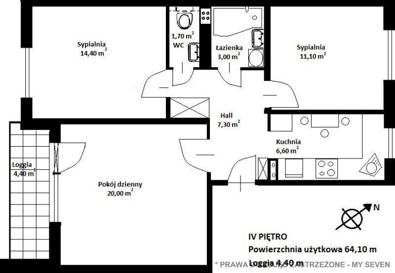 Mieszkanie trzypokojowe na sprzedaż Warszawa, Bemowo, warszawa  64m2 Foto 15