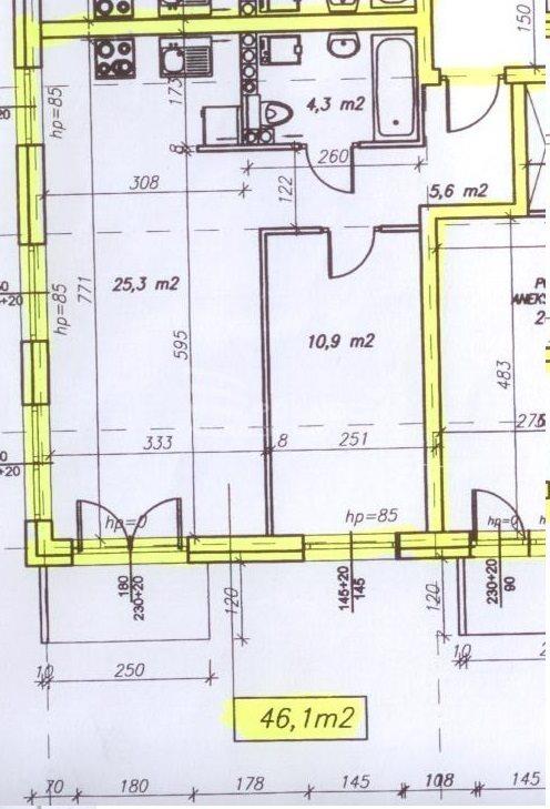 Mieszkanie dwupokojowe na wynajem Pabianice, Nowe 2 pokoje, winda, balkon, miejsce postojowe  46m2 Foto 5