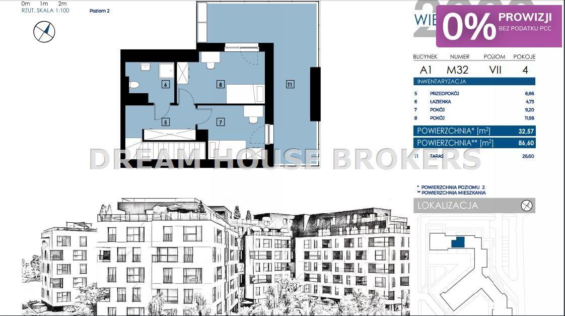 Mieszkanie czteropokojowe  na sprzedaż Rzeszów, Zalesie, Wieniawskiego  87m2 Foto 6