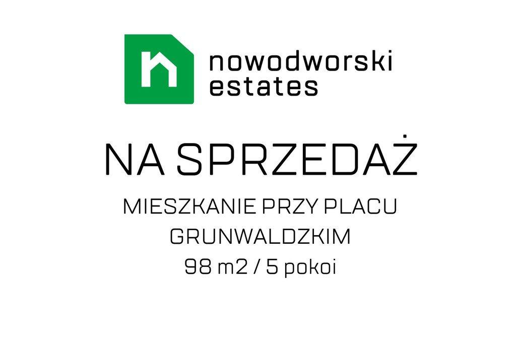 Mieszkanie na sprzedaż Wrocław, Plac Grunwaldzki, Plac Grunwaldzki, Szczytnicka  98m2 Foto 1