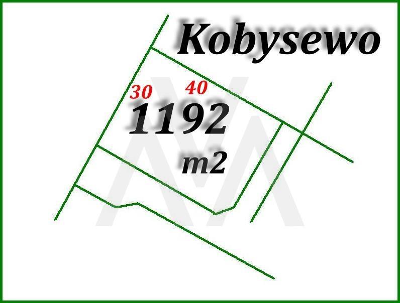 Działka budowlana na sprzedaż Kobysewo, Las, Główna  1192m2 Foto 10