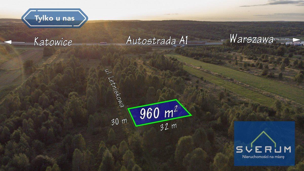 Działka budowlana na sprzedaż Łysiec, Letniskowa  960m2 Foto 2