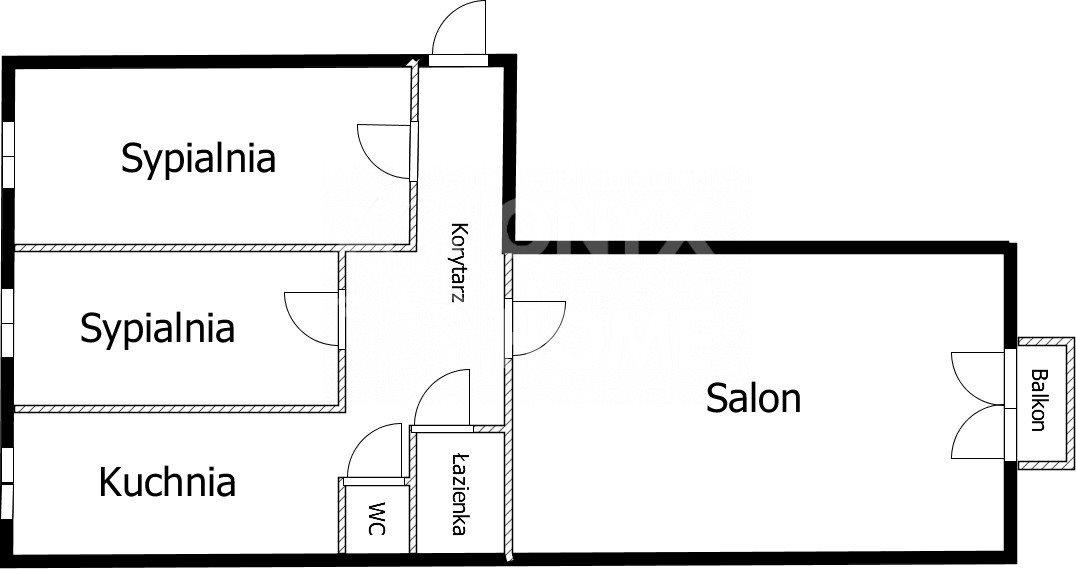 Mieszkanie trzypokojowe na sprzedaż Gdynia, Oksywie, Bosmańska  58m2 Foto 8