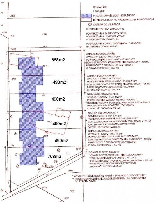 Działka budowlana na sprzedaż Warszawa, Ursynów, Karmazynowa  5148m2 Foto 1