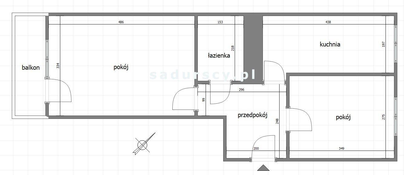 Mieszkanie dwupokojowe na sprzedaż Kraków, Bieżanów-Prokocim, Kozłówek, Seweryna  45m2 Foto 3