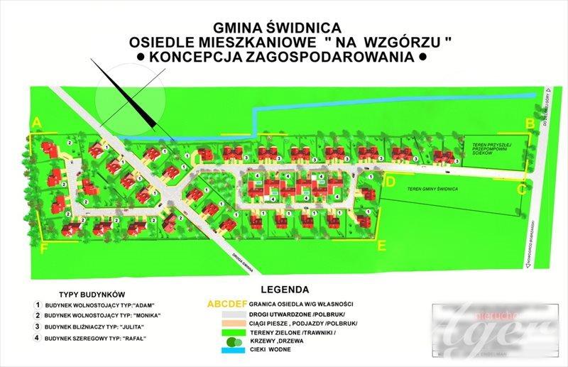 Działka budowlana na sprzedaż Świdnica  1045m2 Foto 1