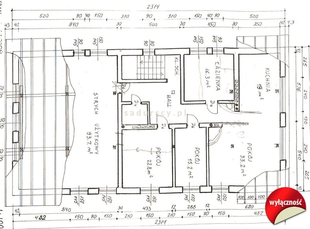 Dom na sprzedaż Maciejowice  633m2 Foto 11
