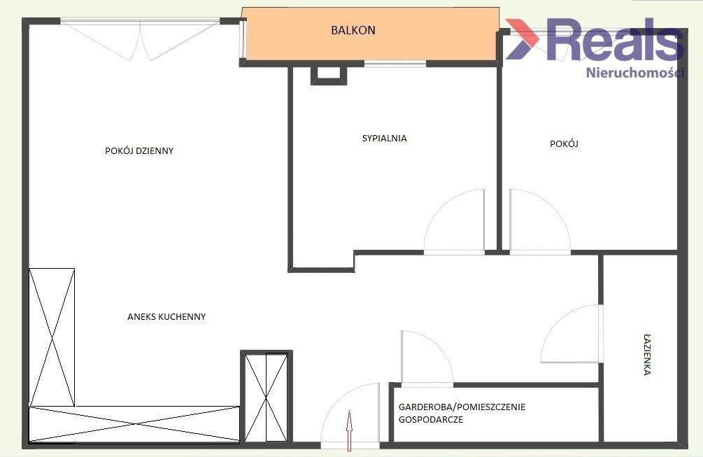 Mieszkanie trzypokojowe na sprzedaż Warszawa, Wola, Młynów, Radziwie  79m2 Foto 7