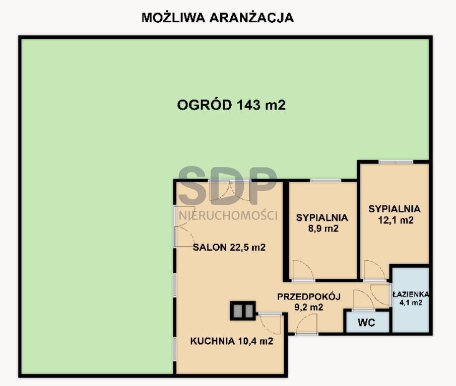 Mieszkanie czteropokojowe  na sprzedaż Wrocław, Fabryczna, Stabłowice, Stabłowicka  69m2 Foto 5