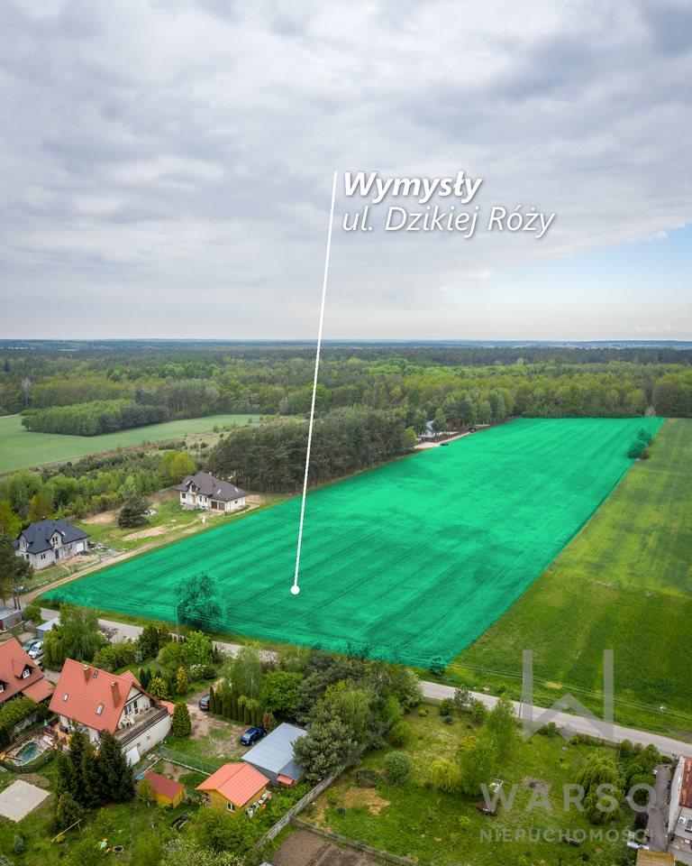 Działka budowlana na sprzedaż Wymysły  6000m2 Foto 2