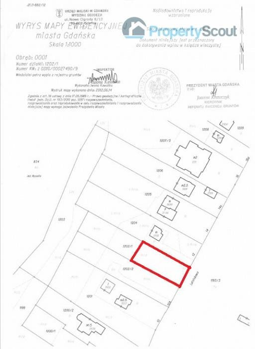 Działka budowlana na sprzedaż Gdańsk, Osowa, LETNISKOWA  922m2 Foto 2
