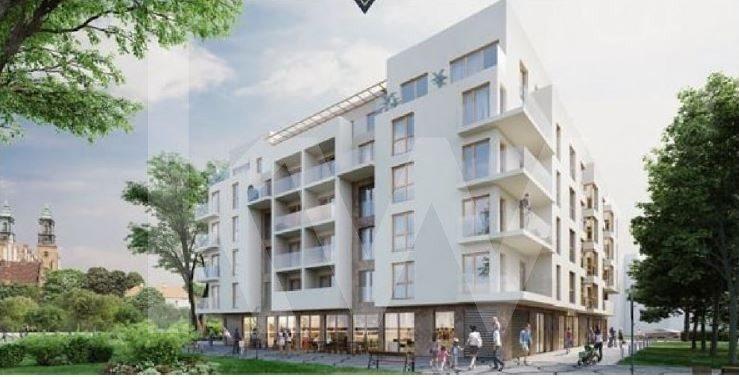Mieszkanie dwupokojowe na sprzedaż Poznań, Chwaliszewo, Chwaliszewo  43m2 Foto 1