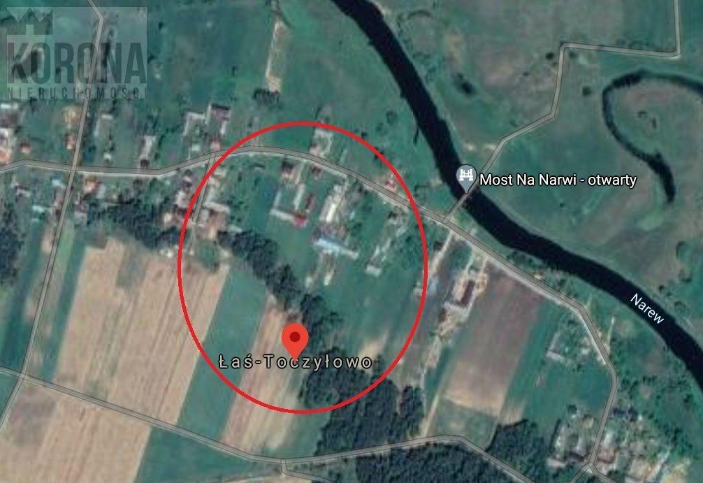 Działka rolna na sprzedaż Łaś-Toczyłowo  4472m2 Foto 1