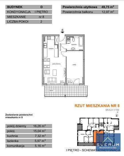 Mieszkanie dwupokojowe na sprzedaż Częstochowa, Parkitka, Bialska  50m2 Foto 6