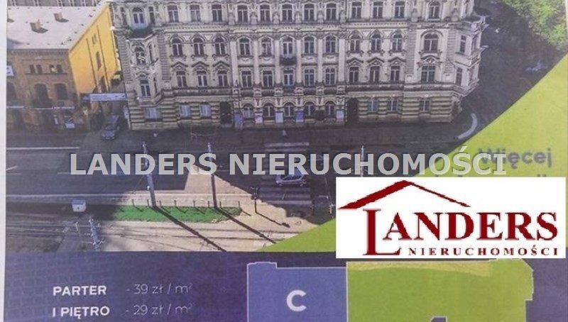 Lokal użytkowy na wynajem Łódź, Aleja Tadeusza Kościuszki  22m2 Foto 1