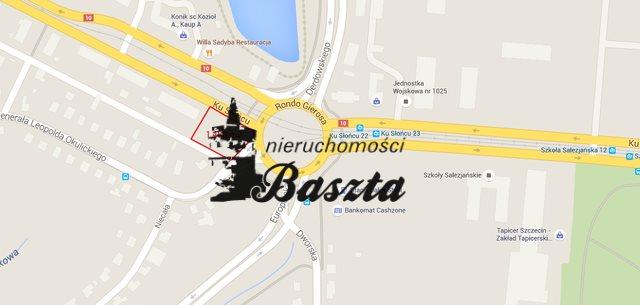 Działka komercyjna na sprzedaż Szczecin  1488m2 Foto 2