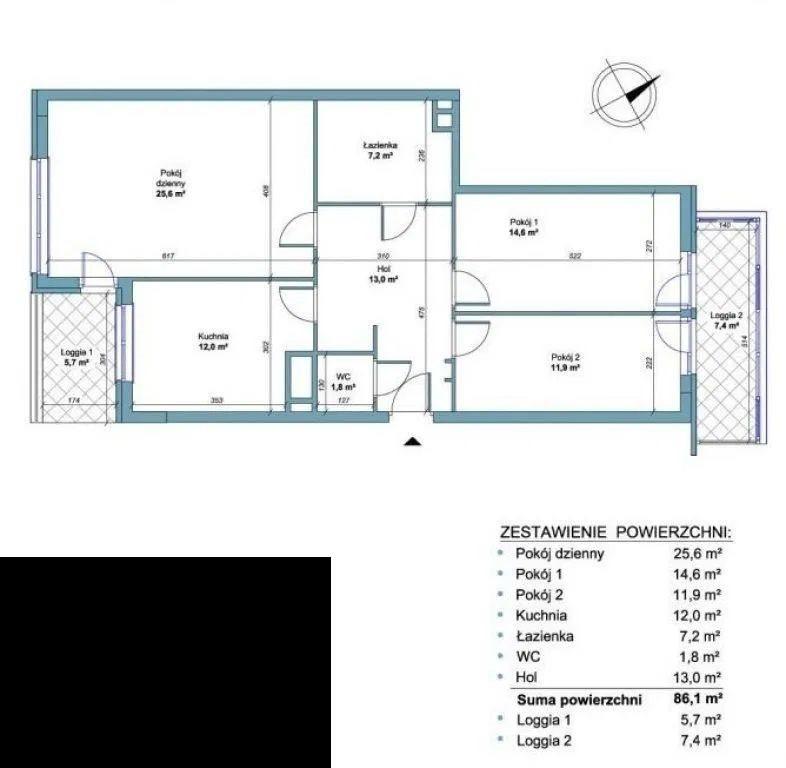 Mieszkanie czteropokojowe  na sprzedaż Warszawa, Włochy, Okęcie  86m2 Foto 7