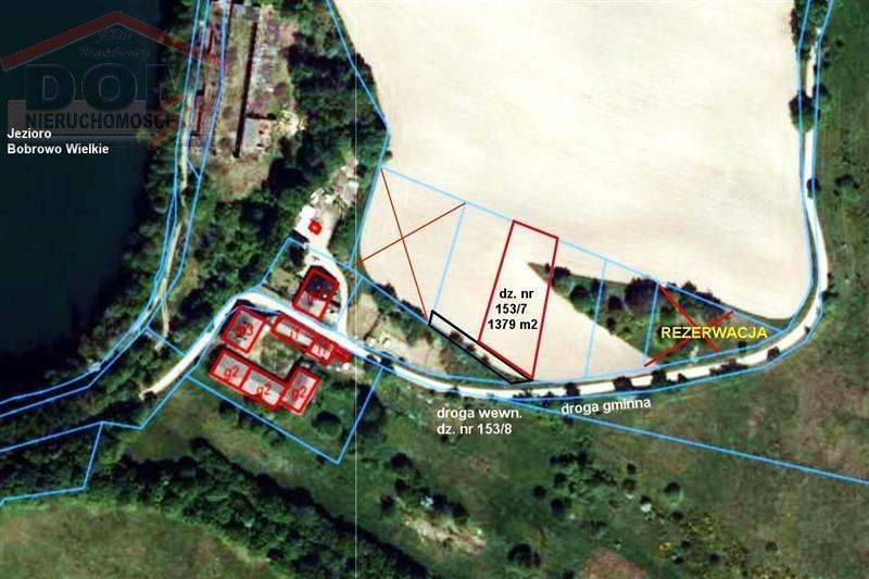Działka budowlana na sprzedaż Kalisz Pomorski, Jezioro, Las, Przedszkole, Tereny rekreacyjne, Aleja Sprzymierzonych  1379m2 Foto 4