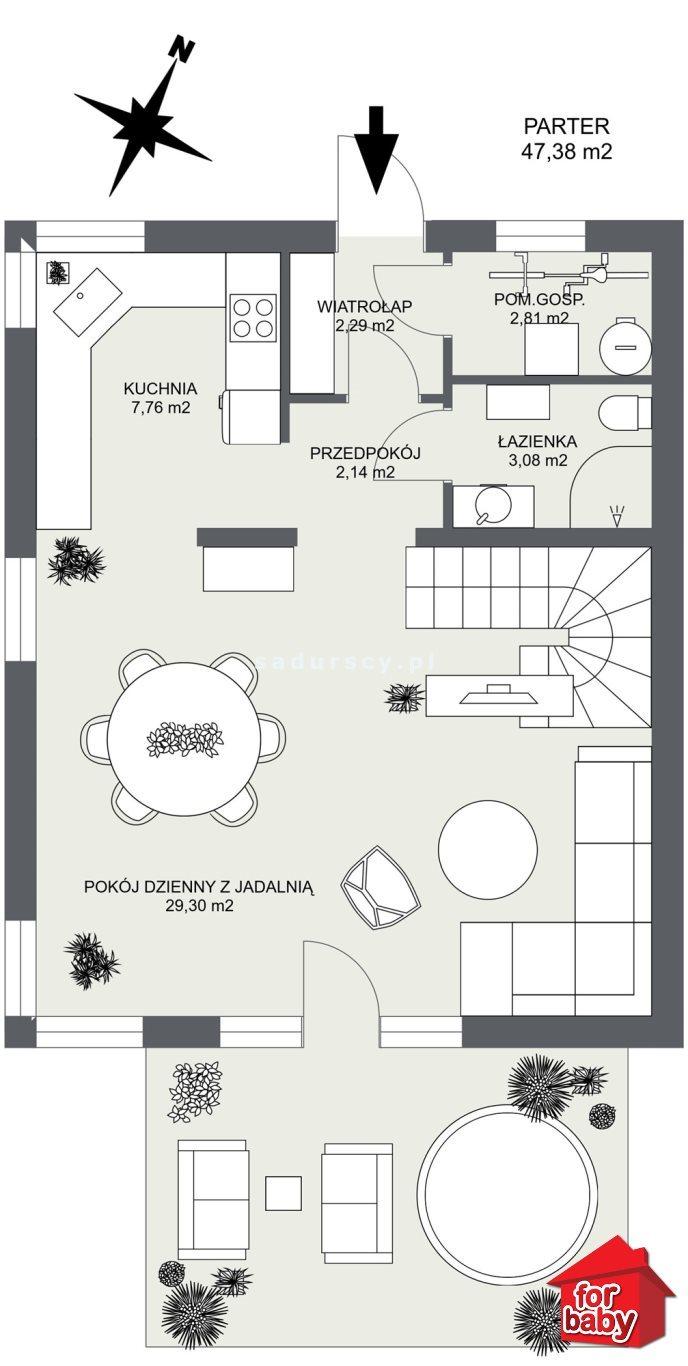 Dom na sprzedaż Zabierzów, Rudawa, Rudawa, Rudawa  133m2 Foto 5