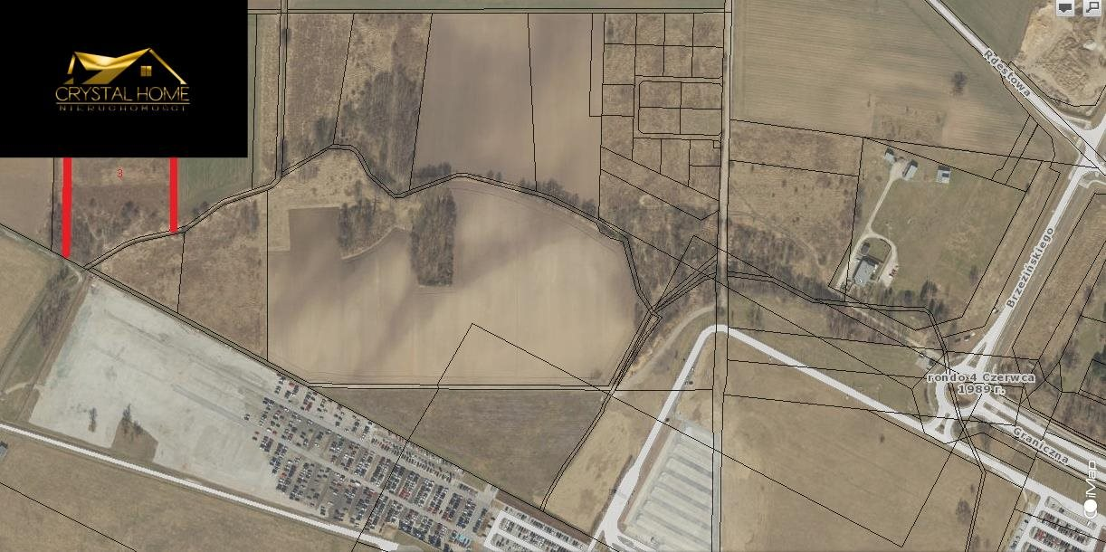 Działka rolna na sprzedaż Wrocław  2200m2 Foto 1
