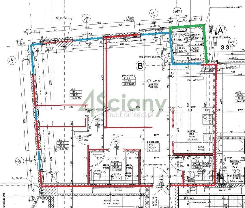 Mieszkanie trzypokojowe na sprzedaż Warszawa, Mokotów, al. Wyścigowa  84m2 Foto 2