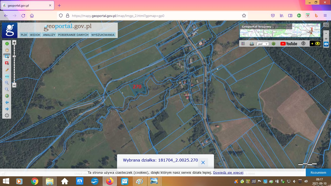 Działka rolna na sprzedaż Wisłok Wielki  5600m2 Foto 3