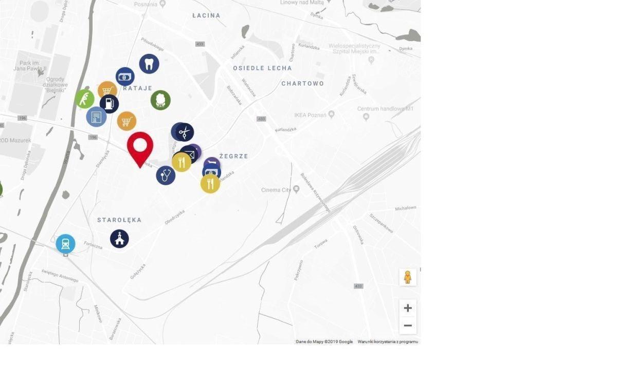 Mieszkanie trzypokojowe na sprzedaż Poznań, Nowe Miasto, Żegrze, Nowe Miasto, Rataje, Żegrze  47m2 Foto 6