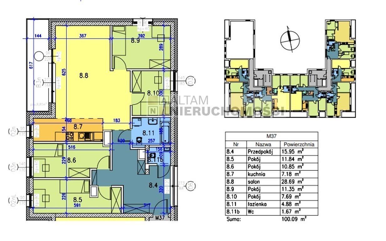 Mieszkanie czteropokojowe  na sprzedaż Kraków, Prądnik Biały, Prądnik Biały, al. 29 Listopada  100m2 Foto 1