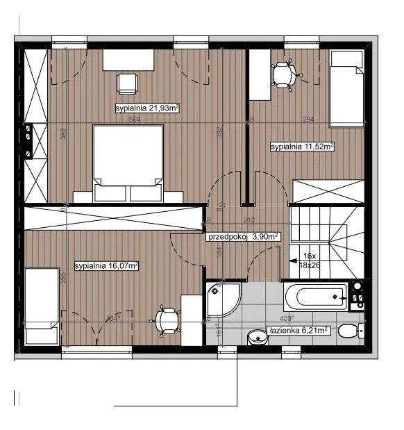 Dom na sprzedaż Warszawa, Ursynów  119m2 Foto 12