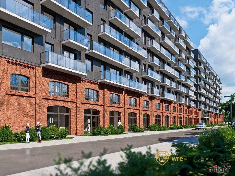 Mieszkanie trzypokojowe na sprzedaż Wrocław, Nadodrze, Mieszczańska  57m2 Foto 3