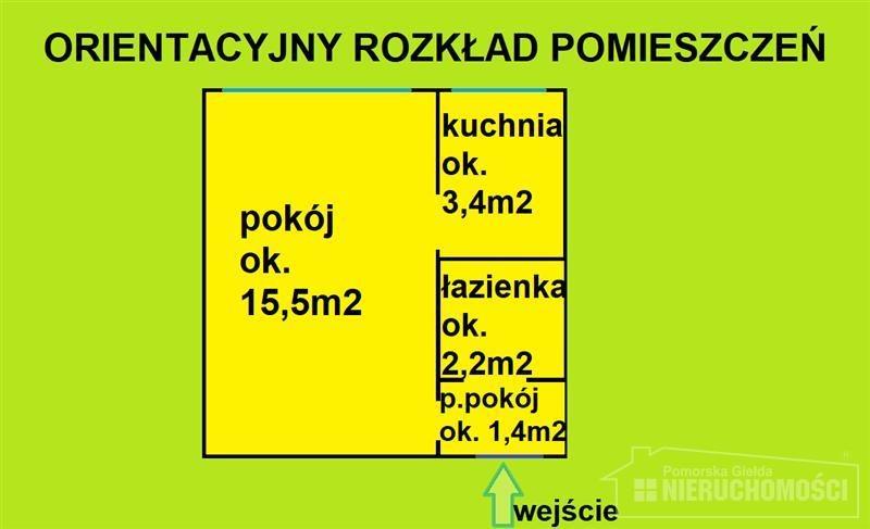 Kawalerka na sprzedaż Szczecinek, Park, Plac zabaw, Przychodnia, Przystanek autobuso, Kościuszki  24m2 Foto 6