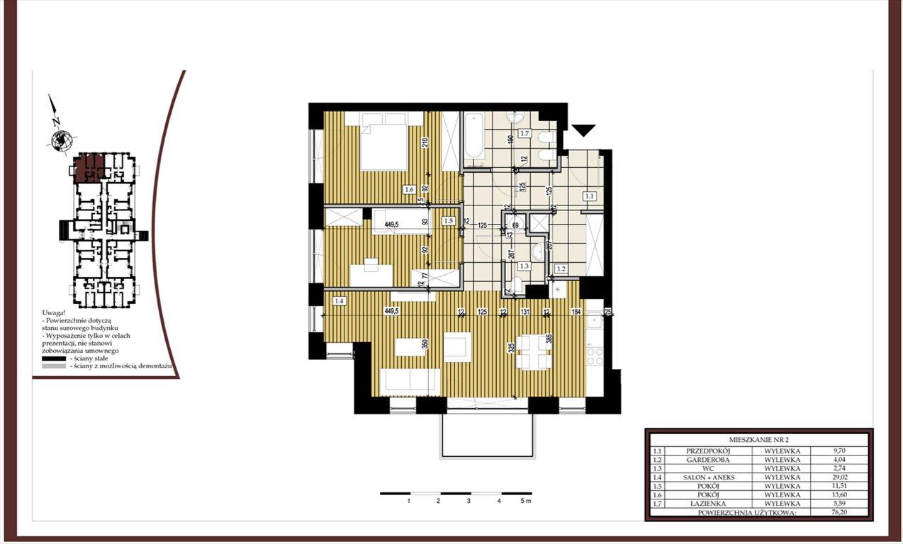 Mieszkanie trzypokojowe na sprzedaż Spała  76m2 Foto 8