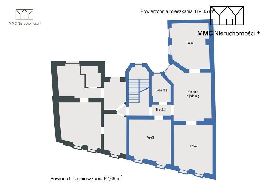 Mieszkanie czteropokojowe  na sprzedaż Bytom, Centrum, Piłsudskiego Józefa  119m2 Foto 3