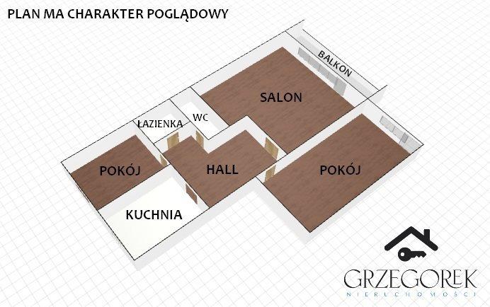 Mieszkanie trzypokojowe na sprzedaż Białystok, Wysoki Stoczek, Studzienna  60m2 Foto 9
