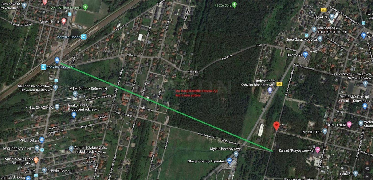Działka inwestycyjna na sprzedaż Kobyłka  4845m2 Foto 4